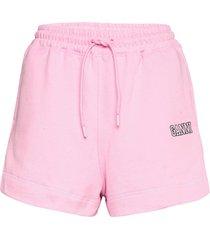 software isoli shorts flowy shorts/casual shorts rosa ganni