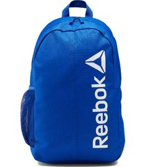 mochila azul reebok active core