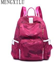 mochilas/ mochila multifuncional de nylon mochila de moda-