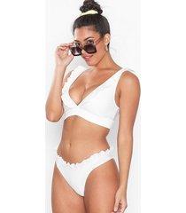 nly beach heart holder bikini panty trosa offwhite