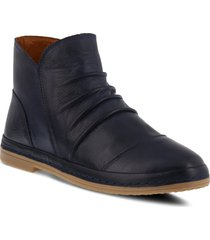 women's spring step gaspare bootie, size 9us - blue