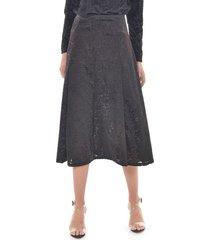 falda para mujer en velvet negro color-negro-talla-8