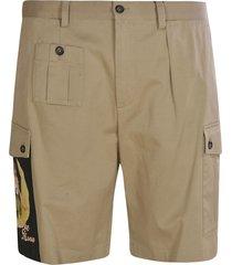 dolce & gabbana side-pocket shorts