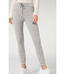 calzedonia comfort leggings woman grey size xs