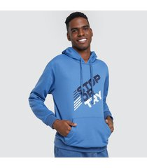 buzo hoodie para hombre stop or try