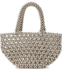 0711 tako pearl tote bag - neutrals