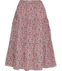 morning skirt knälång kjol rosa lollys laundry