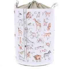 kosz na zabawki alfabet zwierząt / ang