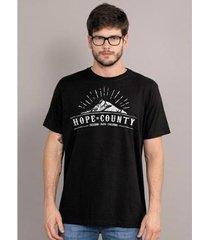 camiseta bandup far cry 5 hope county logo