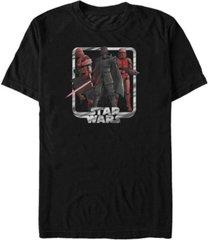 star wars men's rise of skywalker kylo ren mind control t-shirt