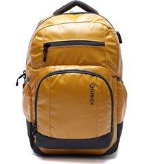 mochila delta amarillo xtrem