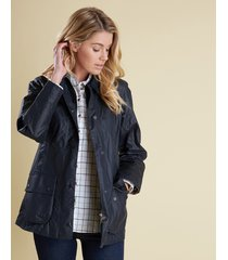 barbour beadnell jacket, sage, 16