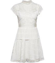 grace dress korte jurk wit by malina