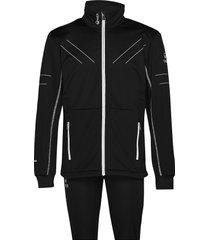 murto m xct softshell set outerwear sport jackets zwart halti