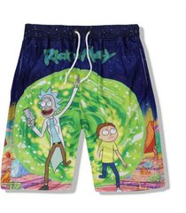 sexy men's beach shorts rick morty 3d printed shorts joggers shorts punk hiphop