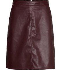 sl tamara pu skirt kort kjol röd soaked in luxury