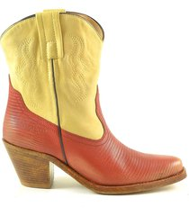 philosophy by lorenzo serafini color block leather cowboy booties