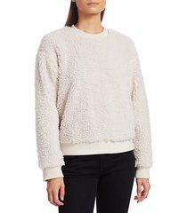 emma fleece pullover