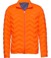 d1. the light down jacket gevoerd jack oranje gant
