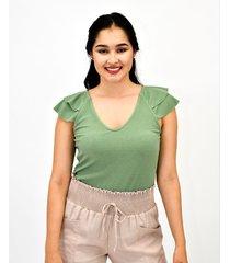 blusa m/s doble bolero