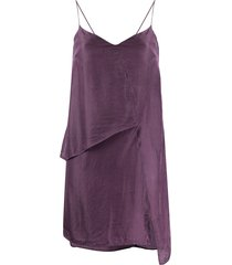 1017 alyx 9sm lily slip dress - purple