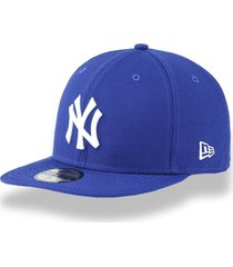 boné new era 5950 new york yankees aba reta royal