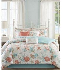 madison park pebble beach 7-pc. california king comforter set bedding