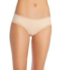 women's thinx cheeky period underwear, size xx-small - beige