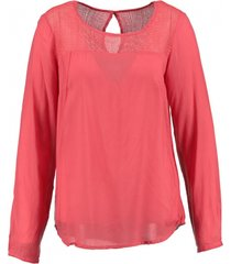 object blouse spiced coral