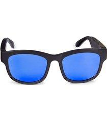 colorways 60mm rainbow bluetooth dual-speaker sunglasses - blue