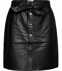 fqlea-sk kort kjol svart free/quent