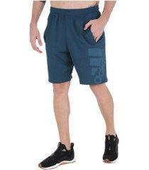 bermuda adidas 4k sport gf bos - masculina - azul escuro