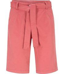 bermuda con cintura da annodare (rosa) - bpc bonprix collection