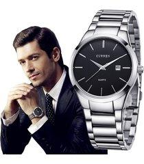 reloj curren de caballero moda elegante metálico