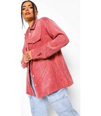 oversized corduroy blouse, pink