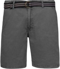 protest korte broek men fan shorts asphalt-l