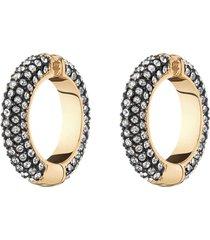 lili pavé crystal cuff earrings