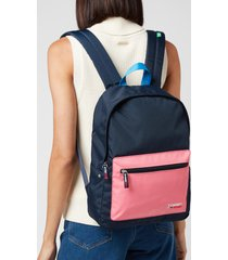 tommy jeans women's tjw campus backpack - colour block
