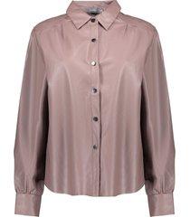 geisha 03857-19 720 blouse pu dusty lilac
