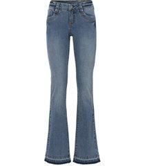 jeans a zampa con dettagli (blu) - rainbow