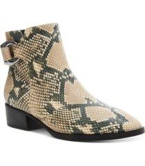 steven new york women's ringer ankle booties