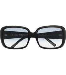 10 corso como square-frame sunglasses - black