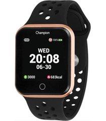 relogio champion smart watch - ch50006z - preto - dafiti