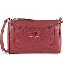 empire city leather crossbody bag