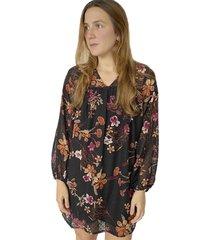 vestido de flores x49503