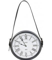 zegar wiszący na pasku paris