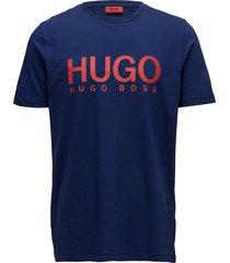 dolive t-shirts short-sleeved blå hugo