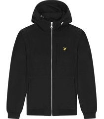 lyle and scott jk1214v lyle&scott softshell jacket, z865 jet black
