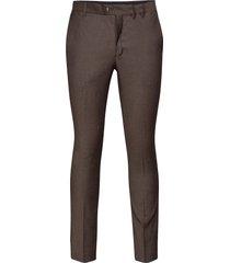 slhslim-mylobill camel struc trs b noos kostuumbroek formele broek bruin selected homme