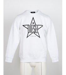 diesel designer sweatshirts, white cotton men's sweatshirt